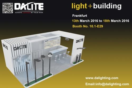 Далите посещает Освещение +Строительство (март 2016), Франкфурт, Германия